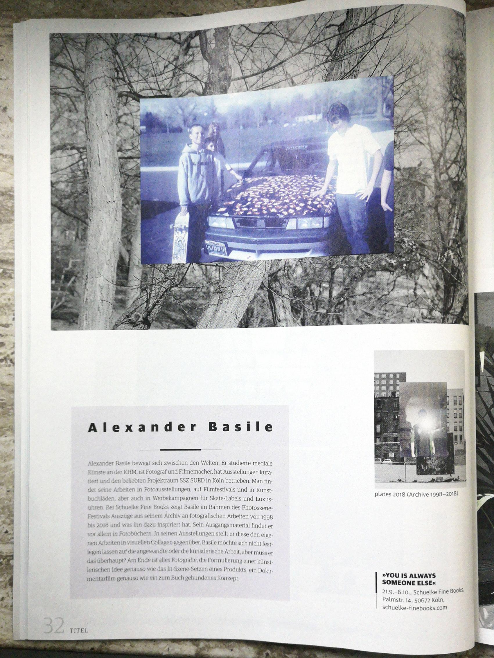 Basile Presse Stadt Revue September 2018