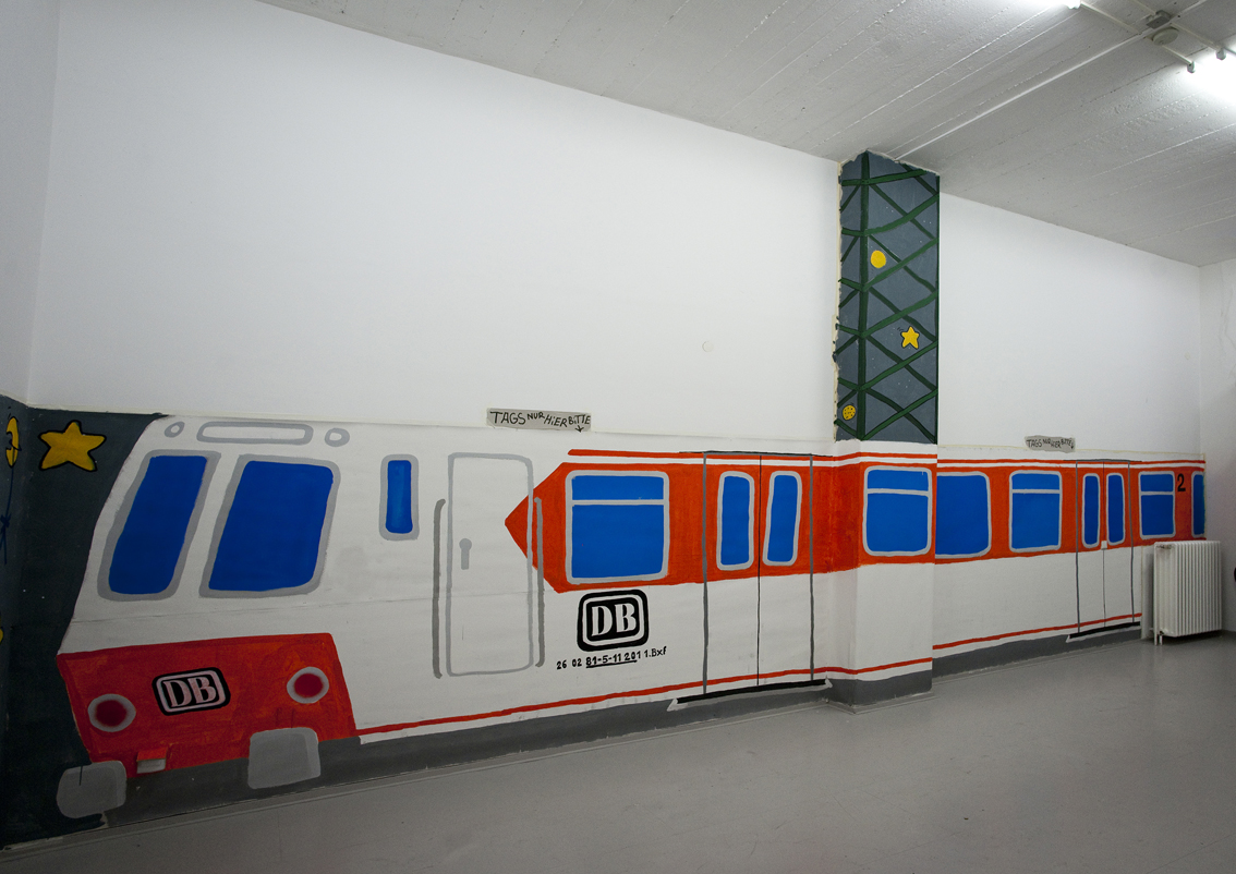 SSZ SUED - TAJ, Installation View, curated by Alexander Basile
